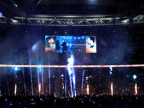 A general view prior to the fight between Anthony Joshua and Wladimir Klitschko for the IBF, WBA and IBO Heavyweight World Title bout at Wembley Stadium